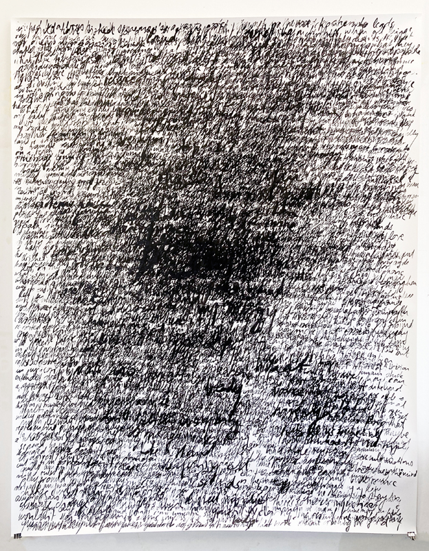 dissolves into others, 120g, 190x150cm, 2021